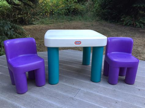 Tikes Table And Chairs Blue by Tikes Table Chairs Saanich Sidney