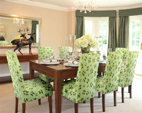 Elegant Slipcover For Dining Room Chairs  Stylish Look