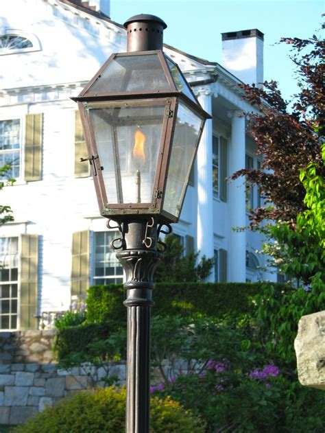 25 best ideas about gas lanterns on brick