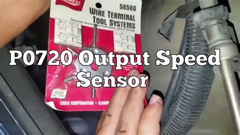 p output speed sensor youtube