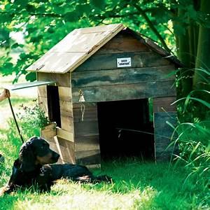 Cabane Pour Chien : un abri de chien comme une cabane en bois marie claire ~ Melissatoandfro.com Idées de Décoration