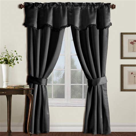 united curtain burlington 5 window curtain set