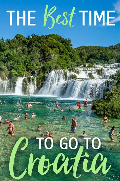 The Best Time To Go To Croatia • The Blonde Abroad