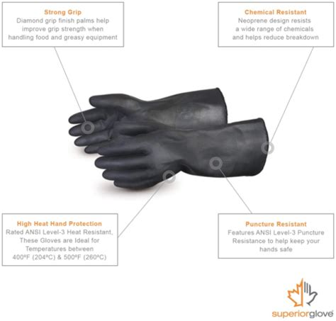 gloves superior smokers grills barbecue resistant bbq heat
