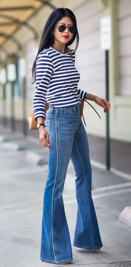 25+ Best Ideas about Bell Bottom Jeans on Pinterest | Hippie Style Flare and Vintage jeans