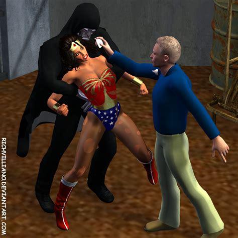 Wonder Woman Vs Zardor 5 By Andrewr255 On Deviantart