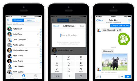 contacting the iphone software update server facebook messenger adds phone number integration gets Conta