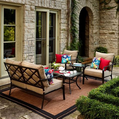 conversation sets patio furniture canada 17 best ideas about patio conversation sets on