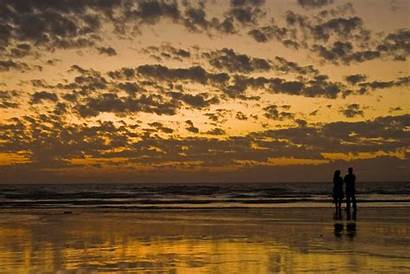 Sunset Beach Couple Wallpapers Couples Romantic Walking