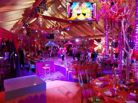 Raj Tents — Luxury Tent Rentals Los Angeles — Indian Theme