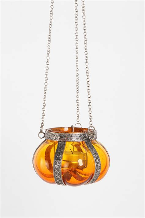 hanging votive candle holders hanging glass candle holder outfitters