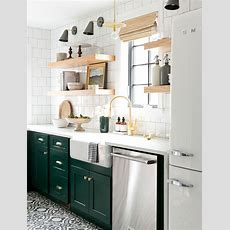 Bored Of White Kitchens? Discover The Cabinet Color