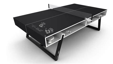 ping pong table surface puma chalk ping pong table the awesomer