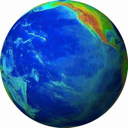 Globe Earth Animation Rotating Animated Spinning Transparent