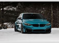 BMW M3 astonishes in Atlantis Blue color Drivers Magazine
