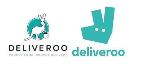 food delivery app deliveroo swops complicated logo