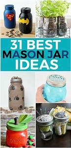 31, Best, Diy, Mason, Jar, Ideas