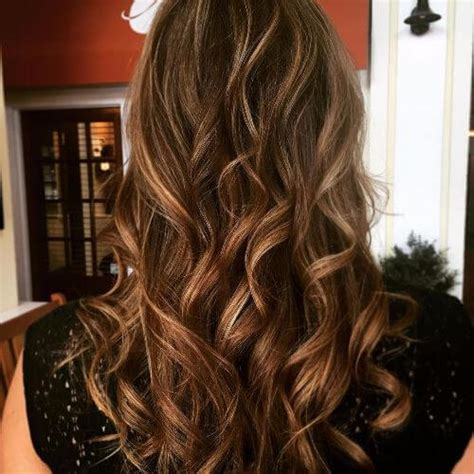 caramel highlights ideas   hair colors