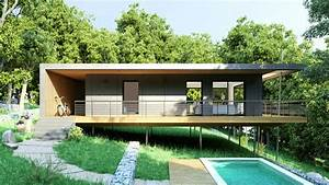 Maison Pop House : maison pop up dans les arbres une maison conomique et cologique ~ Melissatoandfro.com Idées de Décoration