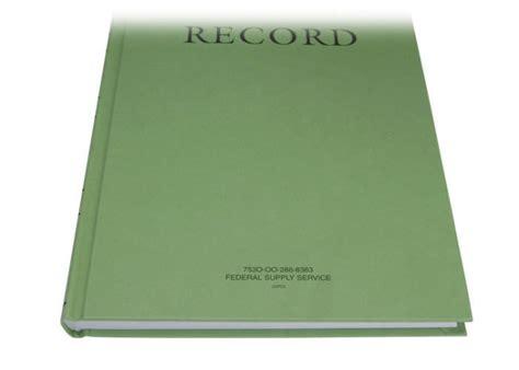 Green Military Log Book, Record Book, Memorandum Book, 8 1