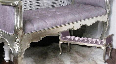 canape bout de lit bout de lit acajou argent 233 et soie int 233 rieurs d 233 co brocante meubles de charme et mobiliers