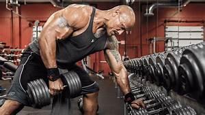 Dwayne Johnson Back Workout