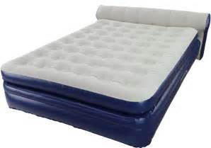aerobed elevated queen with headboard air mattress aero