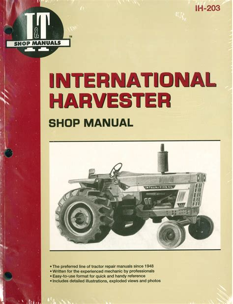 966 Ih Tractor Wiring Schematic For by International Harvester Tractor Service Manual 454 464 484