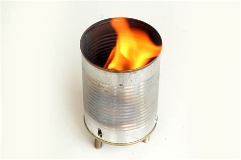 How To Make A Tin Can Brazier Fire