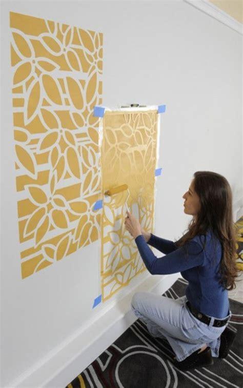 Wände Gestalten Mit Farbe Streifen by Kreativ Und Leicht Zu Hause Die W 228 Nde Gestalten