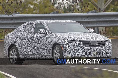 cadillac ct shows production headlights spy gm authority