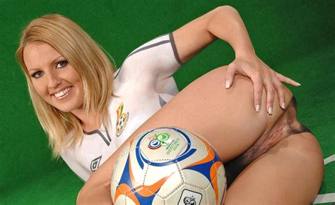 Nude and Painted Football Girls   Foot Nude Paint Girls Foot Nude Paint Girls     jpg