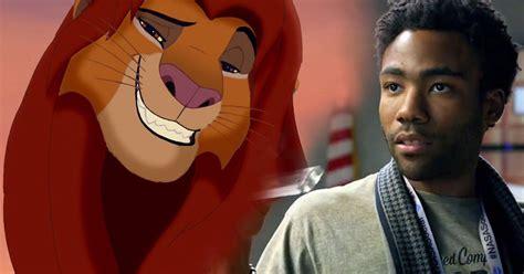 jon favreau the lion king donald glover voicing simba in jon favreau lion king
