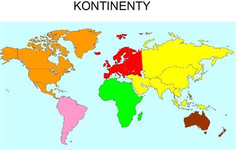 Mapa sveta kontinenty - Horizontálna batéria na okamžitý ...
