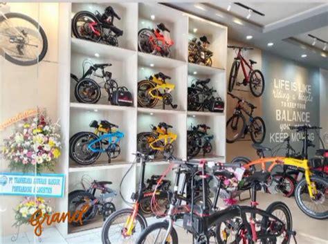 sumarno bikes toko sepeda terbaru  makassar hadirkan