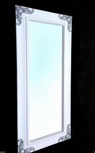 Wandspiegel Weiß Barock : wandspiegel wei silber gro holz180x80 barock wei ~ Lateststills.com Haus und Dekorationen