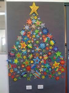 how to make homemade christmas trees with star on wall how to make homemade christmas trees with