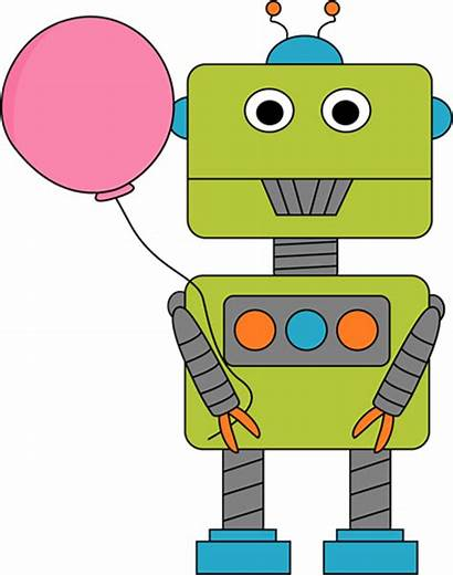 Robot Clipart Clip Balloon Robots Balloons Cliparts