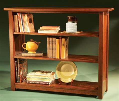 stickley bookcase woodworking projects american