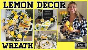 Lemon, Decor, Ideas