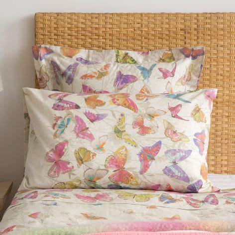 linge de lit imprim 233 papillons zara home maison et impression de papillon