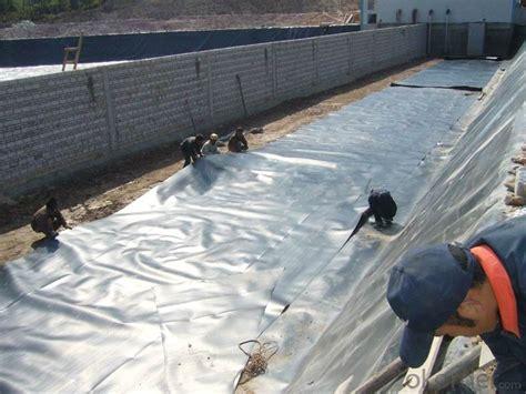 buy hdpe geomembrane black plastic sheeting  pond price