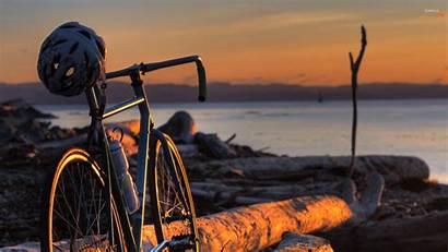 Bicycle Sunset Wallpapers Background Resolution Bike Desktop