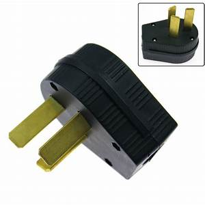 1x High Quality 50a 220v 3 Prong Plug Replacement