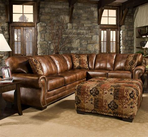 western leather sectional sofa sectional sofa design rustic leather sectional sofa