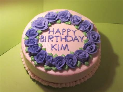 The Pastry Chef Happy Birthday Kim