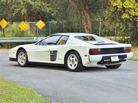 Miami Vice Testarossa by The Testarossa From Miami Vice Is For Sale But
