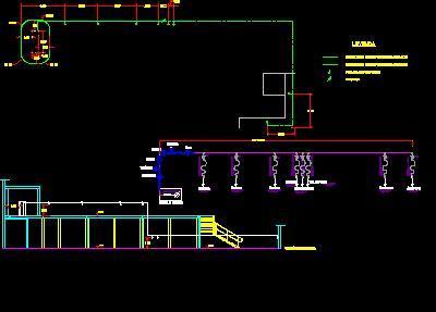 installation  compressed air  workshops dwg block
