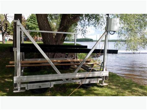 5000 Lb Boat Lift by 5000 Lbs Dock Rite Electric Boat Lift Rideau Township Ottawa