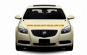Buick Regal Vectra Insignia Standard Normal Halogen